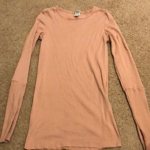 Forever 21 thumbhole ls thermal tee top L